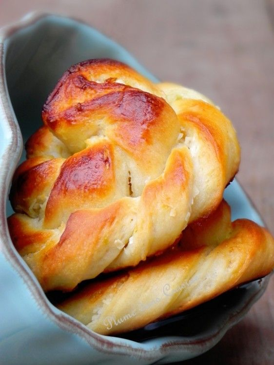 Petits pains briochés coco-citron (100)