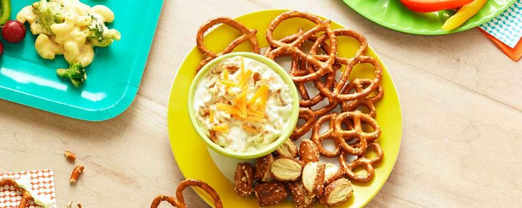 Crunchy Cheddar Pretzel Dip Recipe | Hidden Valley®