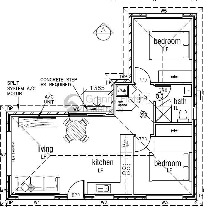 1000 ideas about granny flat plans on pinterest granny for Grandma house plans