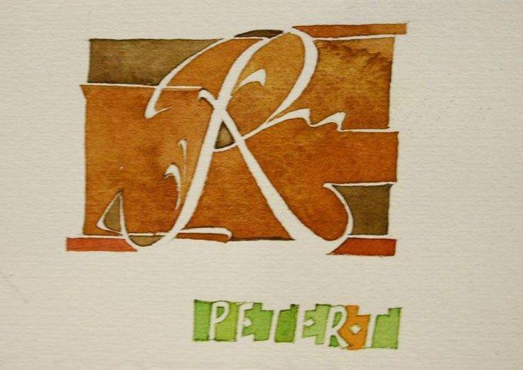 Afbeeldingsresultaat voor peter thornton/calligraphy