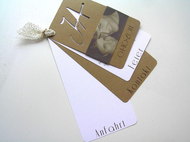 Fesselnd Es Steht Mal Wieder Eine Wunderbare Hochzeit Bevor, Für Die Ich Die  Einladungskarten Machen Durfte