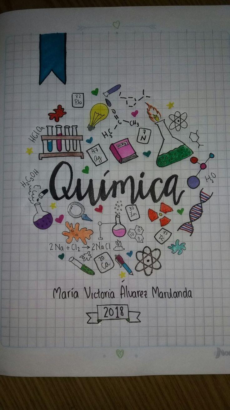 Cuaderno Química  Chemistry Notebook