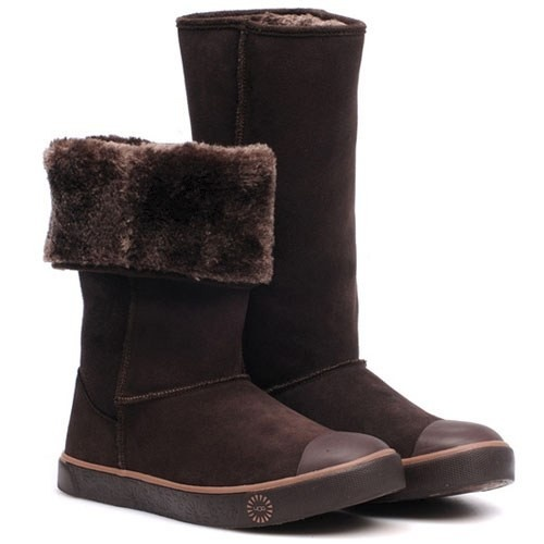 UGG Women Delaine Boots 1886 Chocolate --- Simple but always classic ugg  boots