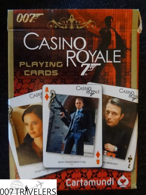 007 TRAVELERS: 007 Item: 007 Casino Royale playing cards