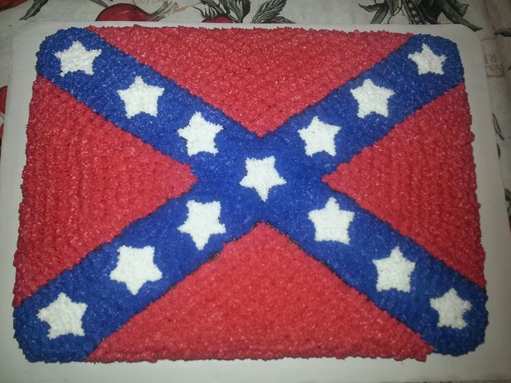 Pictures Of Rebel Flag Birthday Cakes