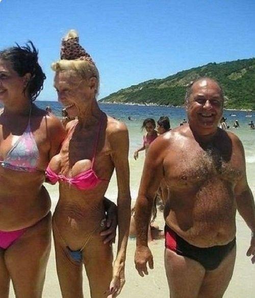 """""""Ужасы"""" на пляже...Впечатлительным лучше не смотреть))"""