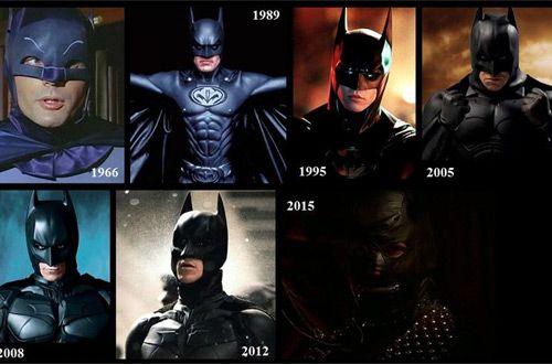 Эволюция образа Бэтмена с 1943 года по настоящее время (видео)