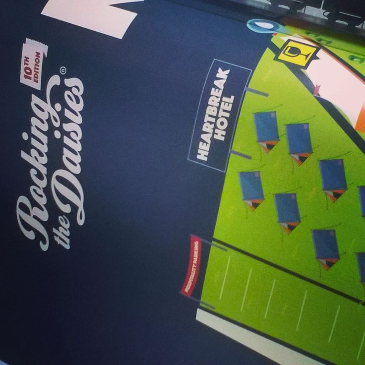 Banner printing for Rocking the Daisies