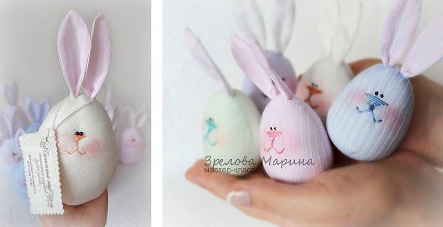 Пасхальные яйца - веселые зайцы. / Куклы и игрушки