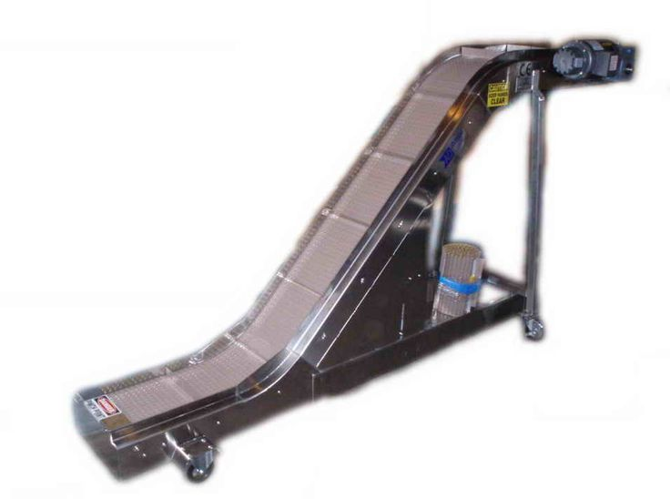Cleated Incline Conveyor Systems – Air Draulic Engineering