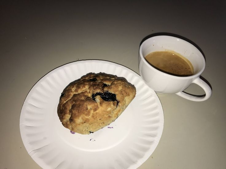 100 calorie blueberry scone (xpost /r/ketorecipes)