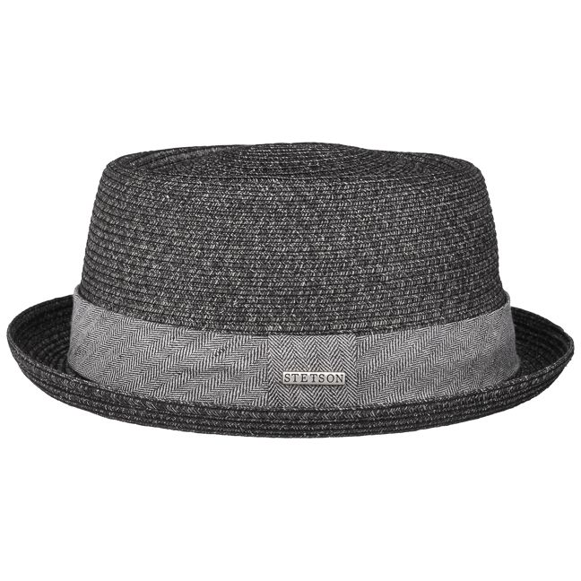 Coole Sommerhüte für Herren. Lässige Hüte für Damen. Robstown Toyo Pork Pie Strohhut by Stetson mit 24 h Versand, Rechnungskauf & 100 Tage Umtausch.
