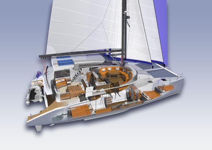 Catamaran innovative design