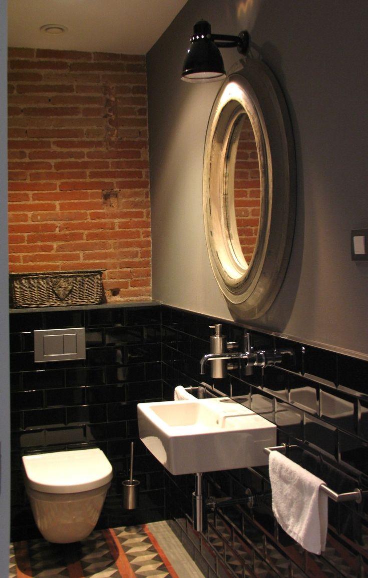 Meer dan 1000 idee n over zwarte wc op pinterest zwarte wc papier toiletten en toiletbrillen - Deco wc rood ...
