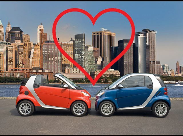 #smart #valentine #smartfortwo #valentines #february #love #day #today #red #blue #silver #coupe #cabrio