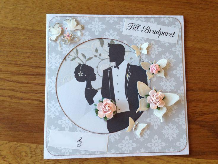 Bildresultat för handgjorda bröllopskort