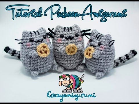 Pusheen Knitting Pattern : 17 Best images about Interests - Hello Kitty on Pinterest ...