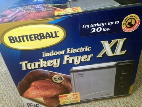 Butterball Indoor Turkey Fryer