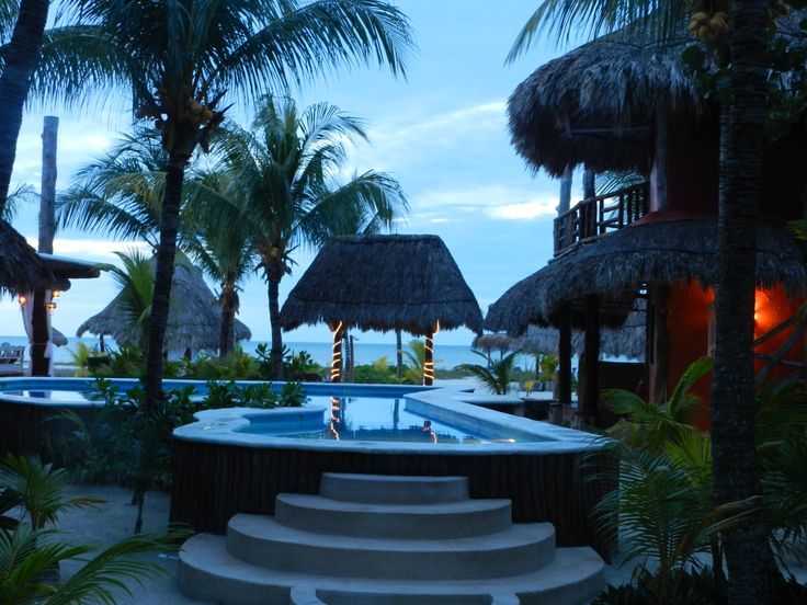 Palapas del Sol hotel in Holbox, paradise