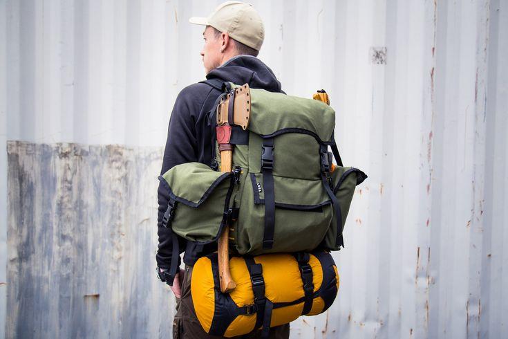 Kickstart the Wildland Scout, a Modular Bushcraft Backpack