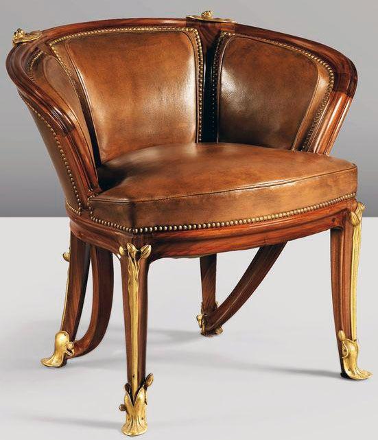 25 best ideas about art nouveau furniture on pinterest for Art nouveau chaise lounge