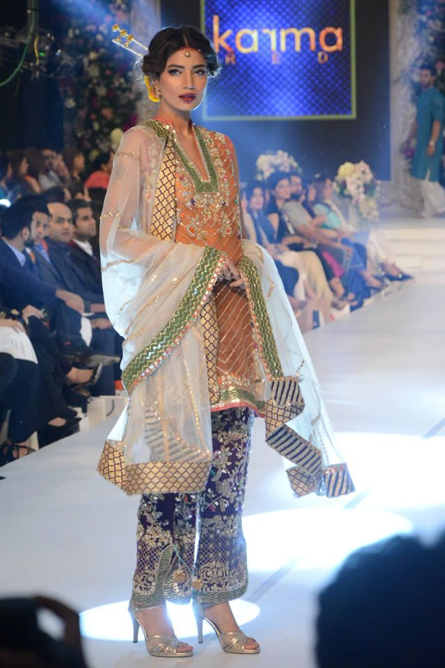 2015 PFDC Loreal Paris Bridal Week Karma Collection Photo Gallery
