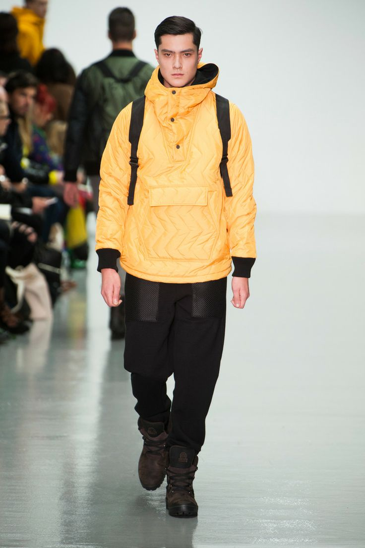 Défile Christopher Raeburn, homme automne-hiver 2014-2015, Londres. #LFW #fashionweek #runway