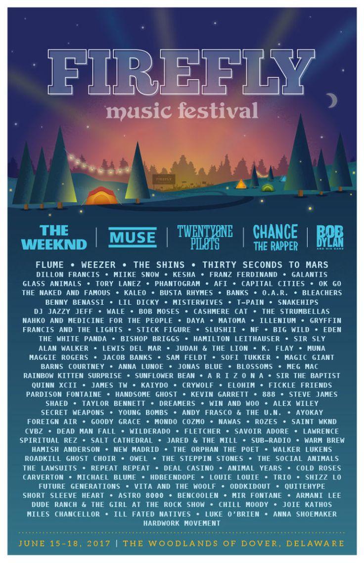 bastille firefly festival