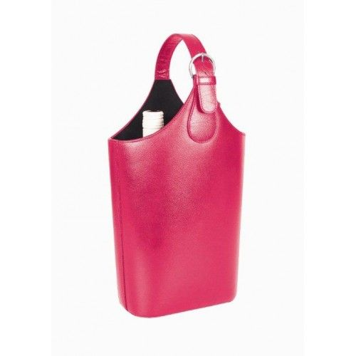 Carlo Rossini 001 Leather Wine Carrier
