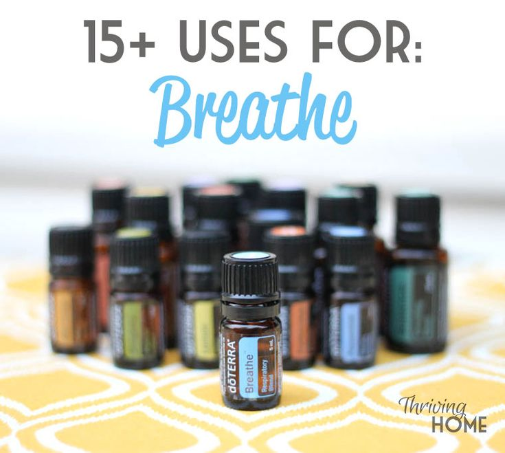 15+ Uses for doTerra Breathe essential oil. Finally, something to help a cough for kids under two! | Thriving Home
