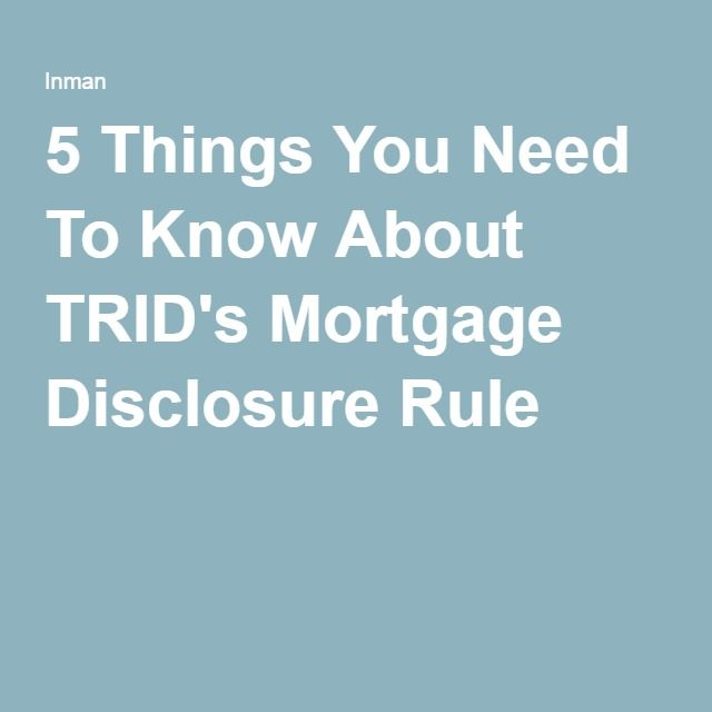 8 best #TRID images on Pinterest Real estate business, Real - best of 8 settlement statement