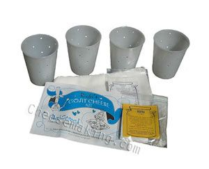 goat cheese kit - FARMcurious #PDcurious