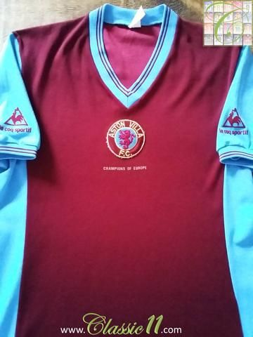 Relive Aston Villa's 1982/1983 season with this original Le Coq Sportif home football shirt.