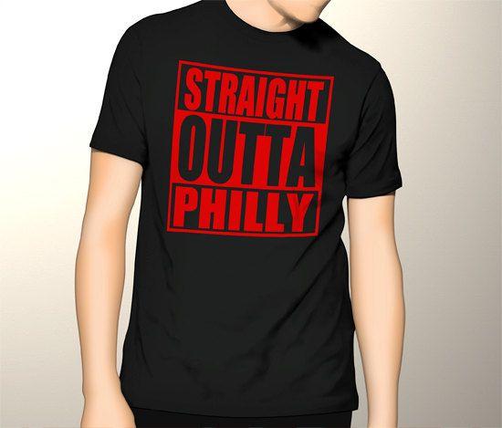 New Gildan T-Shirt Straight Outta Philly Tee by CreativeIndonesia