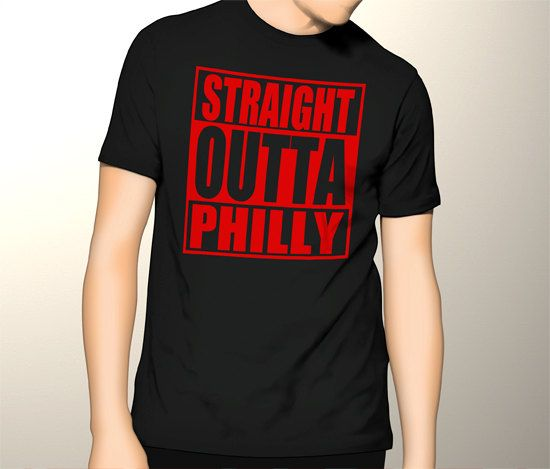 New Gildan T-Shirt Straight Outta Philly Tee by CreativeIndonesia
