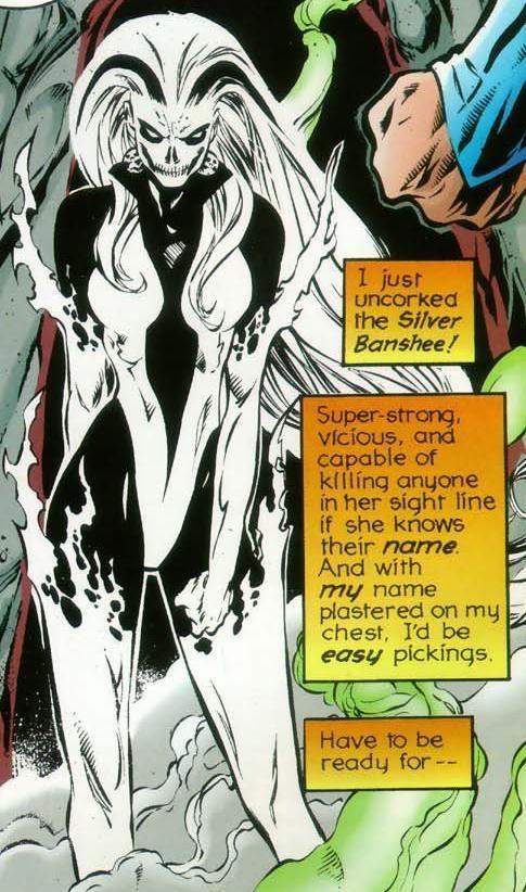 DC Comic's Silver Banshee
