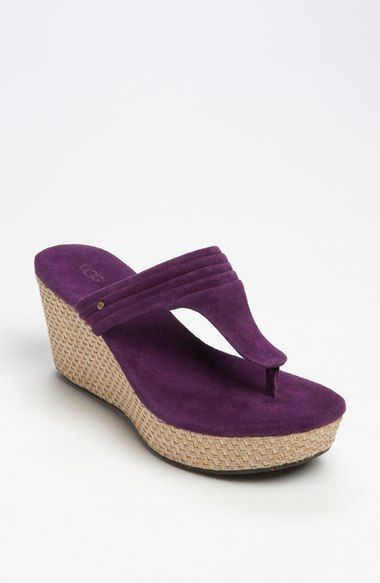 UGG® Australia 'Zamora' Wedge Sandal available at #Nordstrom