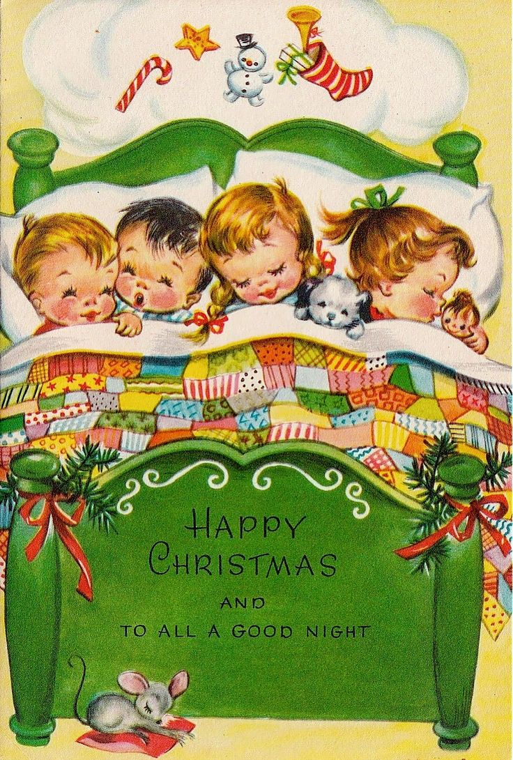 Retro Christmas Cards For Kids Muse Des Impressionnismes Giverny