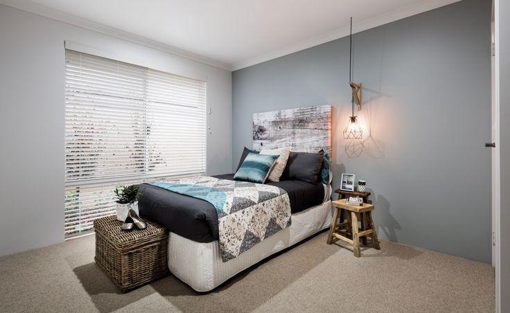 There are three additional bedrooms, all double in size and with built-in robes