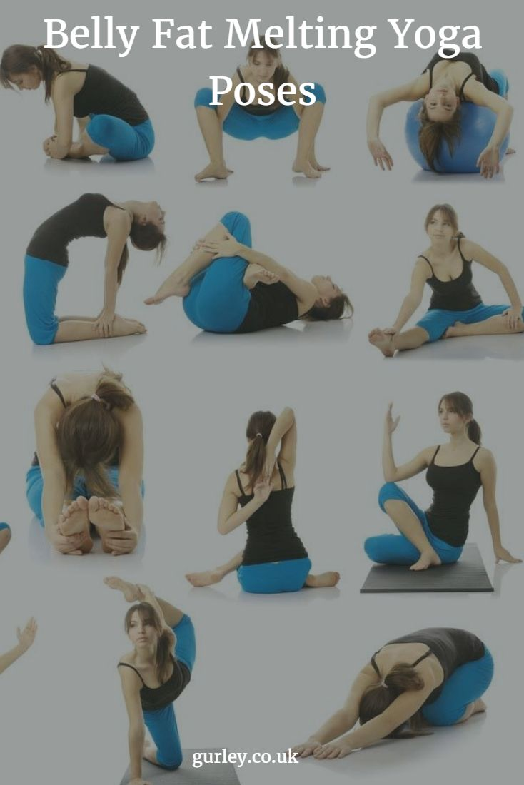 Belly Fat Melting Yoga Poses