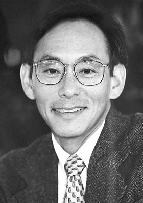 "Steven Chu 1997    Born: 28 February 1948, St. Louis, MO, USA    Affiliation at the time of the award: Stanford University, Stanford, CA, USA    Prize motivation: ""for development of methods to cool and trap atoms with laser light""    Field: Atomic physics"