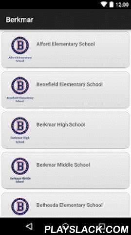 Berkmar Cluster  Android App - playslack.com ,  The Berkmar Cluster app by SchoolInfoApp enables parents, students, teachers and administrators to quickly access the resources, tools, news and information to stay connected and informed!The Berkmar Cluster app by SchoolInfoApp features:• Important news and announcements• Teacher notifications• Interactive resources including event calendars, maps, a contact directory and more• Student tools including My ID, My Assignments, Hall Pass & Tip…