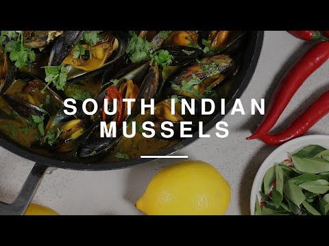 South Indian Mussels w Ravinder Bhogal | Gizzi Erskine | Wild Dish - YouTube