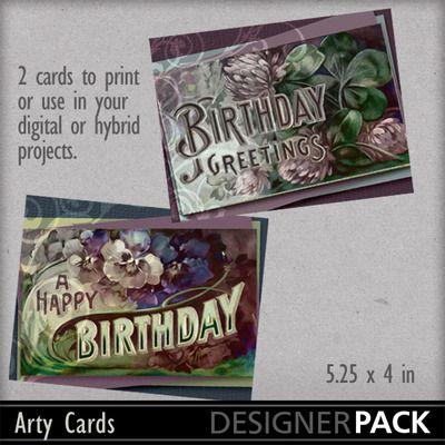 Artycards Birthday