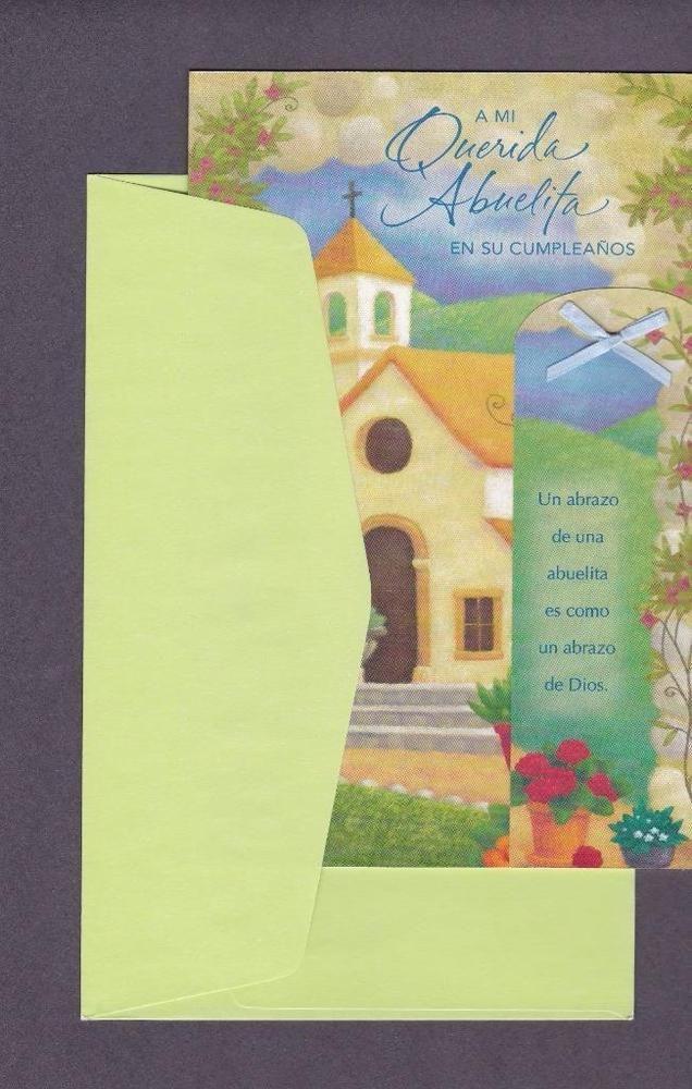 92 best spanish greeting cards images on pinterest spanish spanish birthday greeting card to my dear grandma m4hsunfo