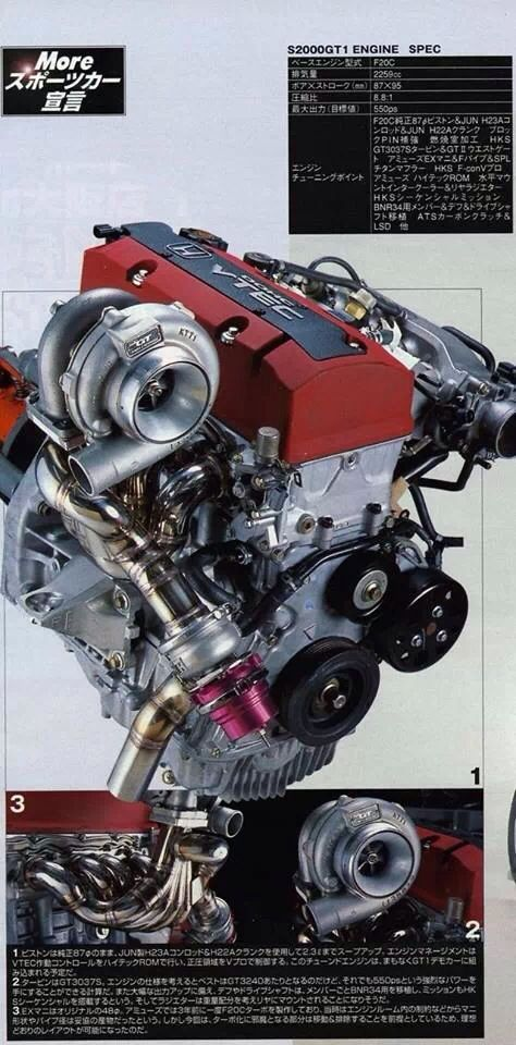I'm really going to build a S2000 from scratch, right down to the engine! And the thing's going to have a turbo!
