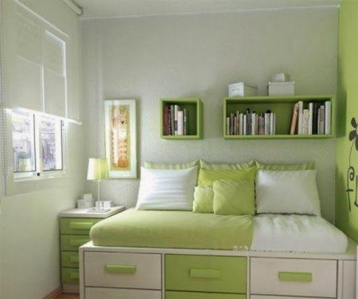 Minimalist Girls Bedroom Design | Desain Kamar Tidur Perempuan Minimalis