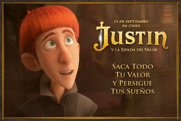 ¡Persigue tus sueños! http://www.JustinyLaEspadaDelValor.es/