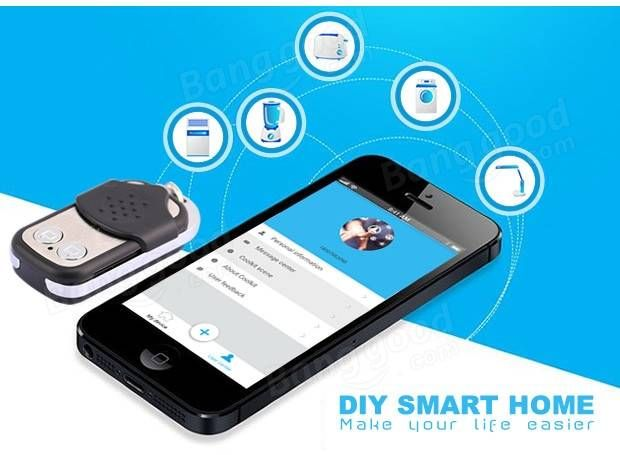 DIY Wi-Fi Wireless Switch For Smart Home With ABS Shell Socket Remote Control Switch Module