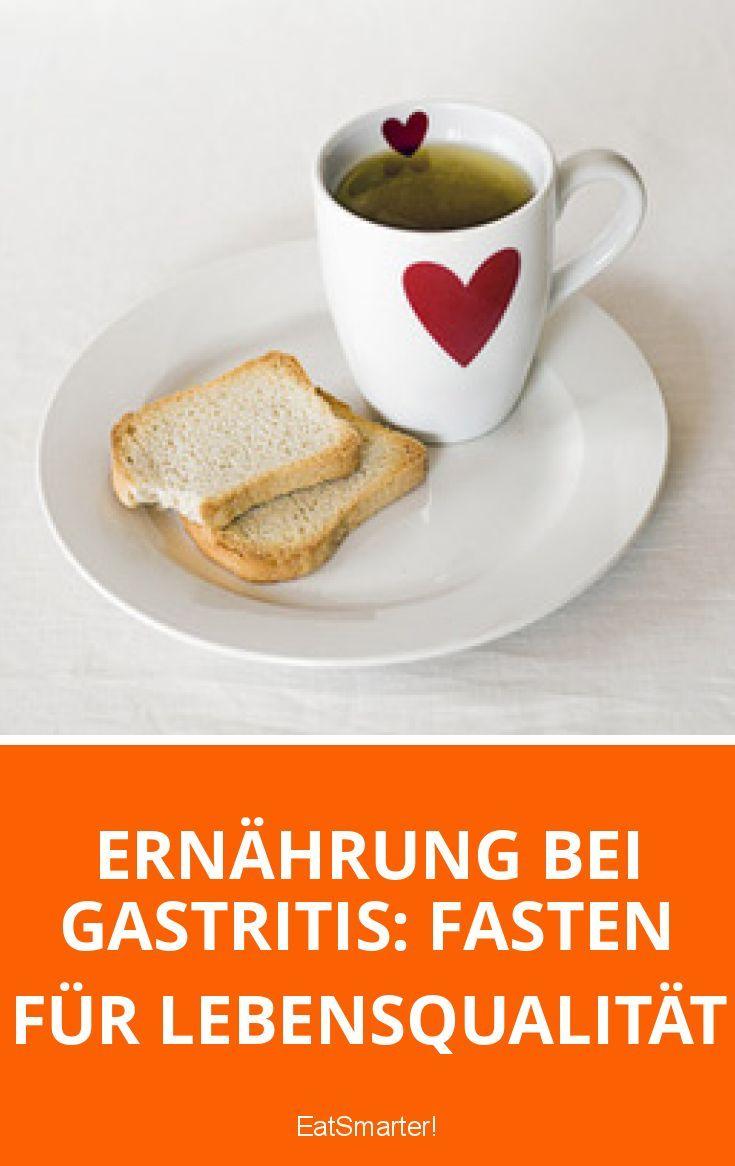 Ernährung bei Gastritis: Fasten für Lebensqualität   eatsmarter.de